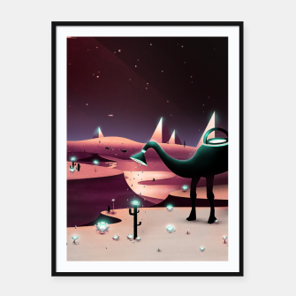Miniatur Watering the Desert Framed poster, Live Heroes