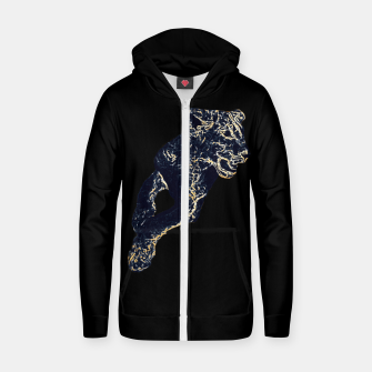 Thumbnail image of African Lion Cub Cotton zip up hoodie, Live Heroes