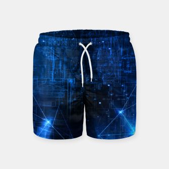 Thumbnail image of Virtuality Swim Shorts, Live Heroes