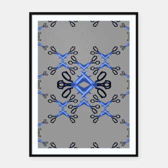 Miniatur Shears in Game Framed poster, Live Heroes