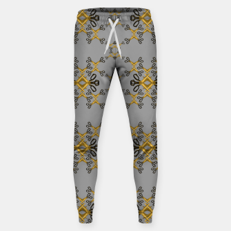 Shears in yellow game Cotton sweatpants obraz miniatury