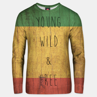 Thumbnail image of Young Wild Free Cotton sweater, Live Heroes