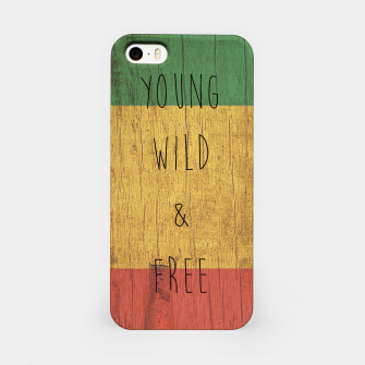 Miniatur Young Wild Free iPhone Case, Live Heroes