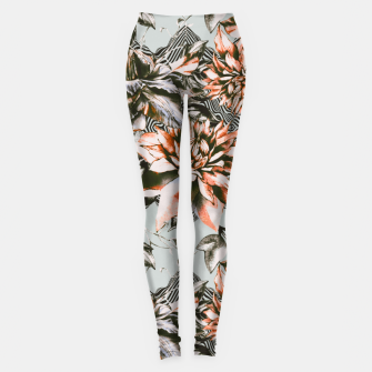 Thumbnail image of Print mix floral  Leggings, Live Heroes