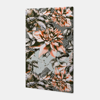 Thumbnail image of Print mix floral  Canvas, Live Heroes