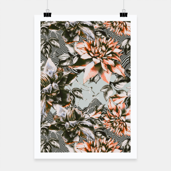 Thumbnail image of Print mix floral  Cartel, Live Heroes