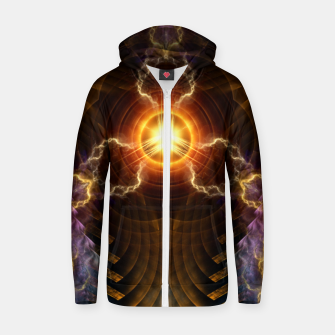 Thumbnail image of Stadidis Core Cotton zip up hoodie, Live Heroes