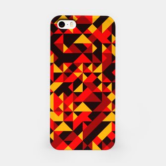 Miniatur Polygon Art - 05 iPhone Case, Live Heroes