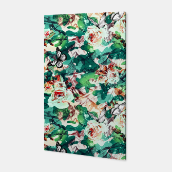 Thumbnail image of Flowery mountainous camouflage  Canvas, Live Heroes