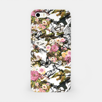 Thumbnail image of Flowery camouflage 02 Carcasa por Iphone, Live Heroes