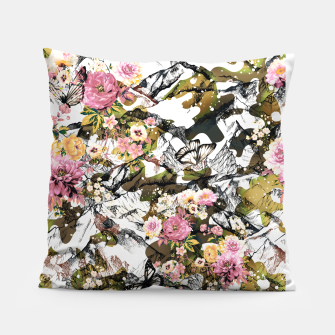 Thumbnail image of Flowery camouflage 02 Almohada, Live Heroes