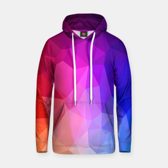 Thumbnail image of Polygon Art - 02 Cotton hoodie, Live Heroes
