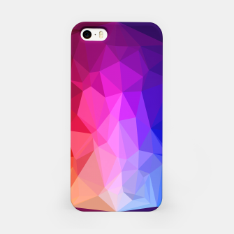 Miniatur Polygon Art - 02 iPhone Case, Live Heroes