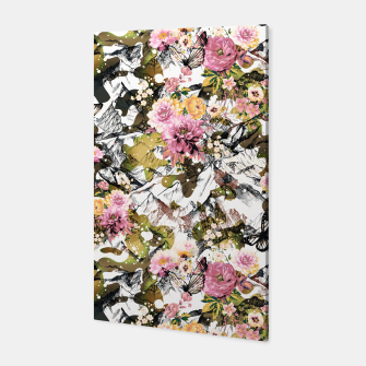 Thumbnail image of Flowery camouflage 02 Canvas, Live Heroes