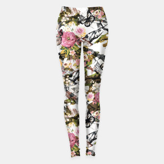 Thumbnail image of Flowery camouflage 02 Leggings, Live Heroes