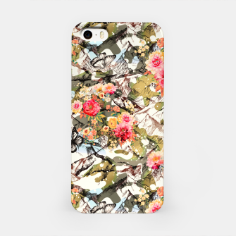 Miniatur Camo mountainous blooming Carcasa por Iphone, Live Heroes