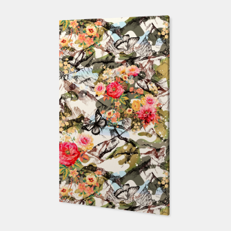 Miniaturka Camo mountainous blooming Canvas, Live Heroes