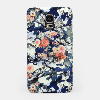 Thumbnail image of Flowery Camouflage 01 Carcasa por Samsung, Live Heroes