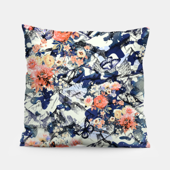 Thumbnail image of Flowery Camouflage 01 Almohada, Live Heroes