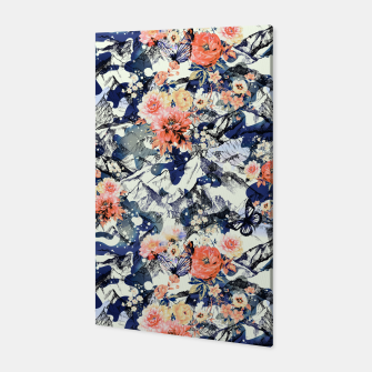 Flowery Camouflage 01 Canvas thumbnail image