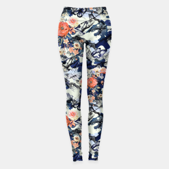 Thumbnail image of Flowery Camouflage 01 Leggings, Live Heroes