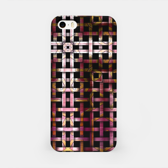 Miniatur Metallic Mesh Weave iPhone Case, Live Heroes