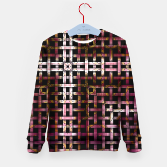 Thumbnail image of Metallic Mesh Weave Kid's sweater, Live Heroes