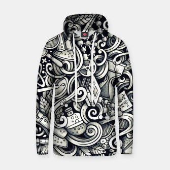 Thumbnail image of science doodle Cotton hoodie, Live Heroes