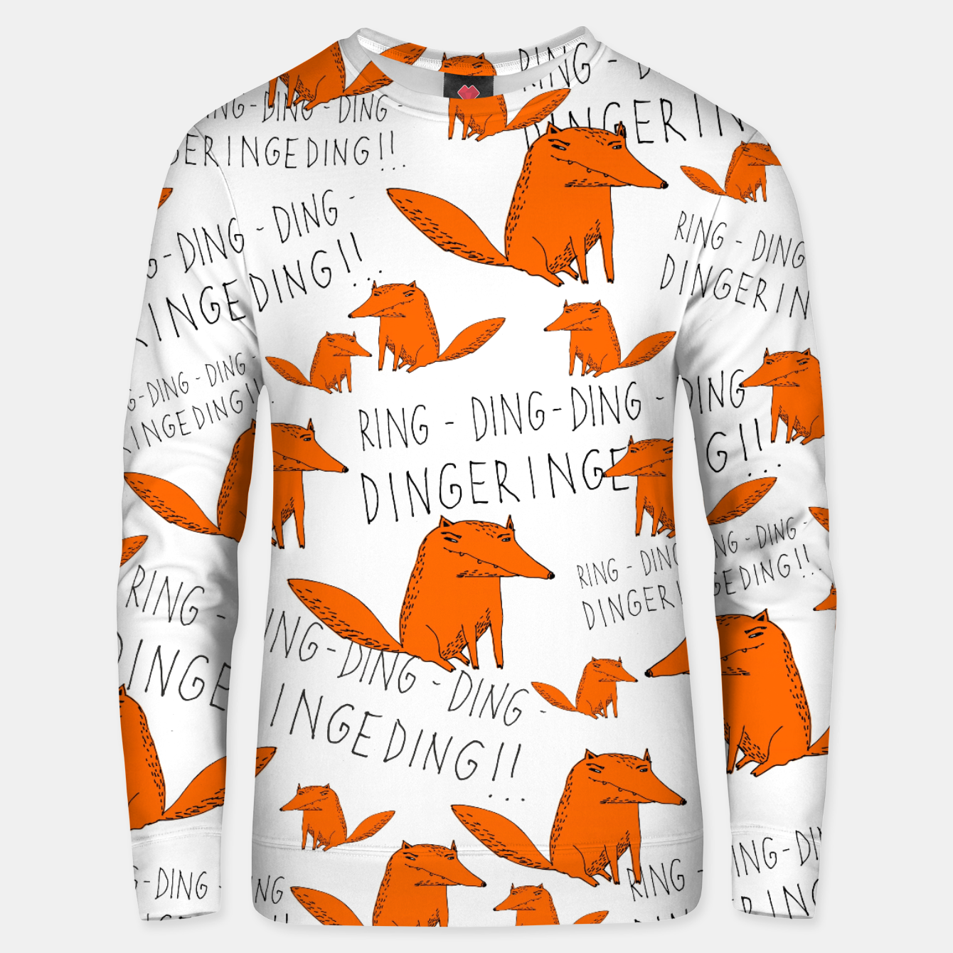 Image of What does the fox say? Bluza bawełniana - Live Heroes