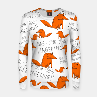 What does the fox say? Bluza bawełniana damska thumbnail image