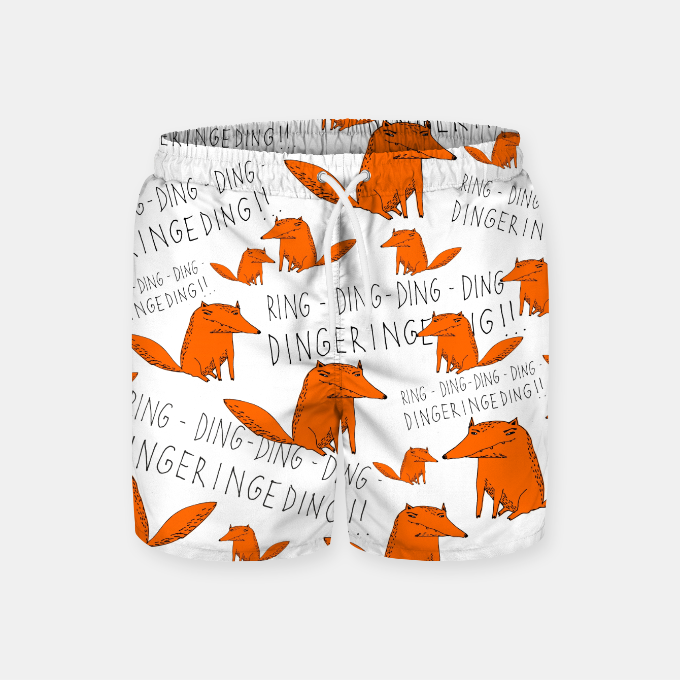 Image of What does the fox say? Szorty kąpielowe - Live Heroes