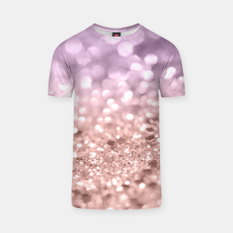 Miniaturka Rose Gold Blush Purple MERMAID Girls Glitter #1 #shiny #decor #art T-Shirt, Live Heroes