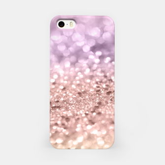 Miniatur Rose Gold Blush Purple MERMAID Girls Glitter #1 #shiny #decor #art iPhone-Hülle, Live Heroes