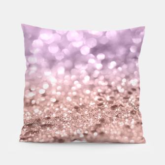 Miniaturka Rose Gold Blush Purple MERMAID Girls Glitter #1 #shiny #decor #art Kissen, Live Heroes