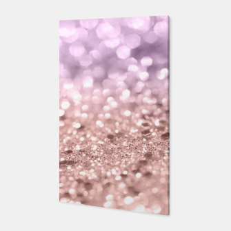 Imagen en miniatura de Rose Gold Blush Purple MERMAID Girls Glitter #1 #shiny #decor #art Canvas, Live Heroes