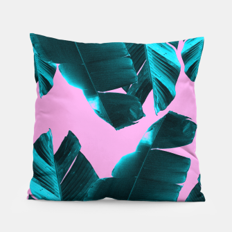 Miniaturka Banana Leaves Tropical Vibes #3 #foliage #decor #art Kissen, Live Heroes