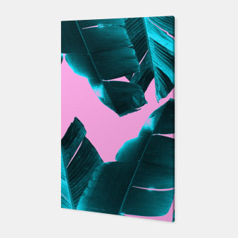 Imagen en miniatura de Banana Leaves Tropical Vibes #3 #foliage #decor #art Canvas, Live Heroes