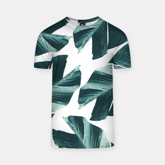 Miniaturka Tropical Banana Leaves Vibes #2 #foliage #decor #art T-Shirt, Live Heroes