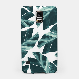 Thumbnail image of Tropical Banana Leaves Vibes #2 #foliage #decor #art Handyhülle für Samsung, Live Heroes