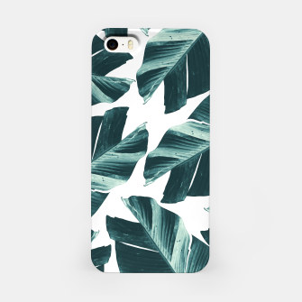 Miniatur Tropical Banana Leaves Vibes #2 #foliage #decor #art iPhone-Hülle, Live Heroes