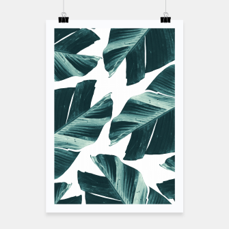 Thumbnail image of Tropical Banana Leaves Vibes #2 #foliage #decor #art Plakat, Live Heroes
