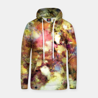 Miniatur Discarded blooms Cotton hoodie, Live Heroes