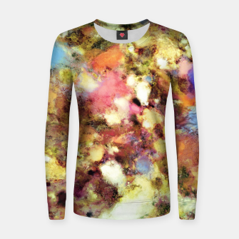 Thumbnail image of Discarded blooms Woman cotton sweater, Live Heroes