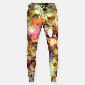 Thumbnail image of Discarded blooms Cotton sweatpants, Live Heroes