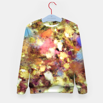 Thumbnail image of Discarded blooms Kid's sweater, Live Heroes