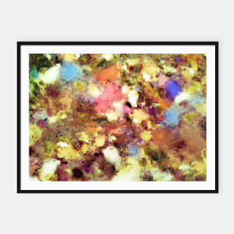 Thumbnail image of Discarded blooms Framed poster, Live Heroes