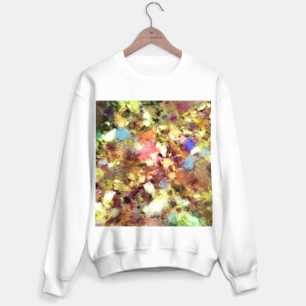 Miniatur Discarded blooms Sweater regular, Live Heroes