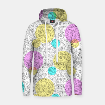 Thumbnail image of Food Coloring Book – Cotton hoodie, Live Heroes