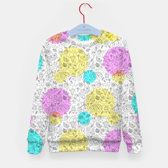 Food Coloring Book – Kid's sweater thumbnail image