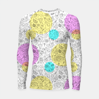 Thumbnail image of Food Coloring Book – Longsleeve rashguard , Live Heroes